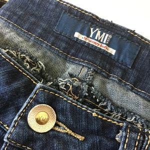 YMI Womens Straight Leg Jeans Sz 11